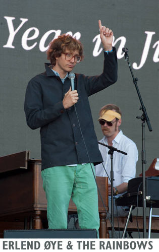 Erlend Øye & The Rainbows