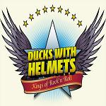 Ducks With Helmets