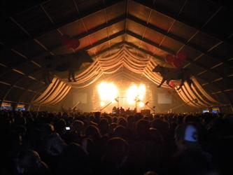 Pendulum teltassa